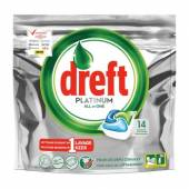 Dreft Platinum All in One Tabs 14szt 209g