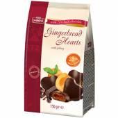 Lambertz Gingerbread Hearts Apricot Dark 150g