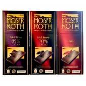 Moser Roth Edel 85%/70%/Chili Czekolada 125g